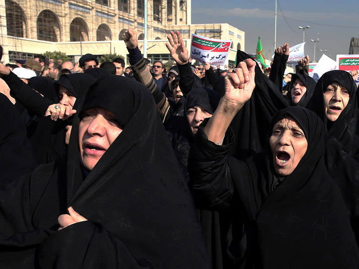 Число жертв протестов в Иране возросло вдвое - ОБНОВЛЕНО