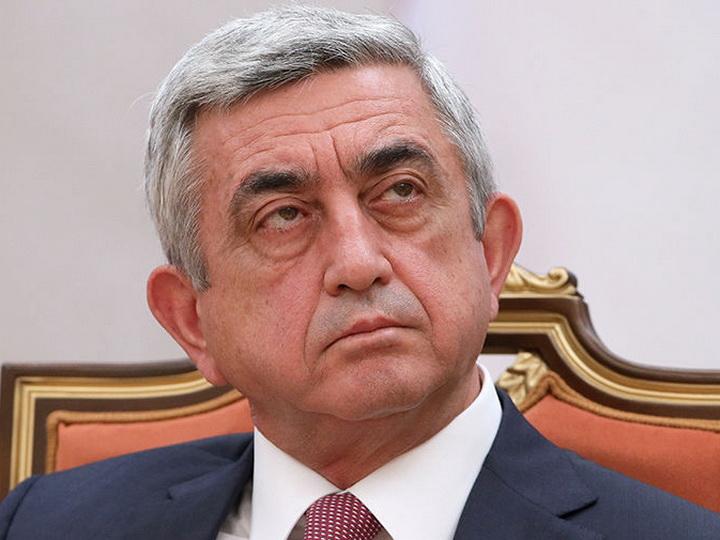 Армянское НПО пожаловалось на Сержа Саргсяна руководству Франции