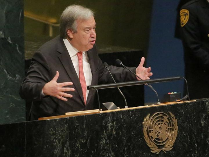 Генсек ООН в канун Нового года призвал мир к единству