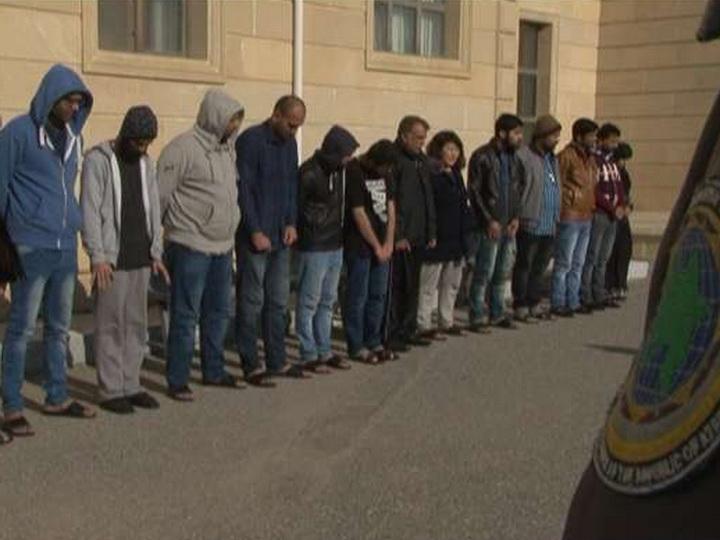 ГМС Азербайджана задержана группа незаконных мигрантов