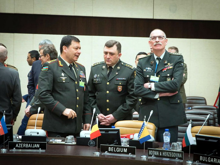 Начальник Генштаба ВС Азербайджана принял участие в заседании НАТО – ФОТО