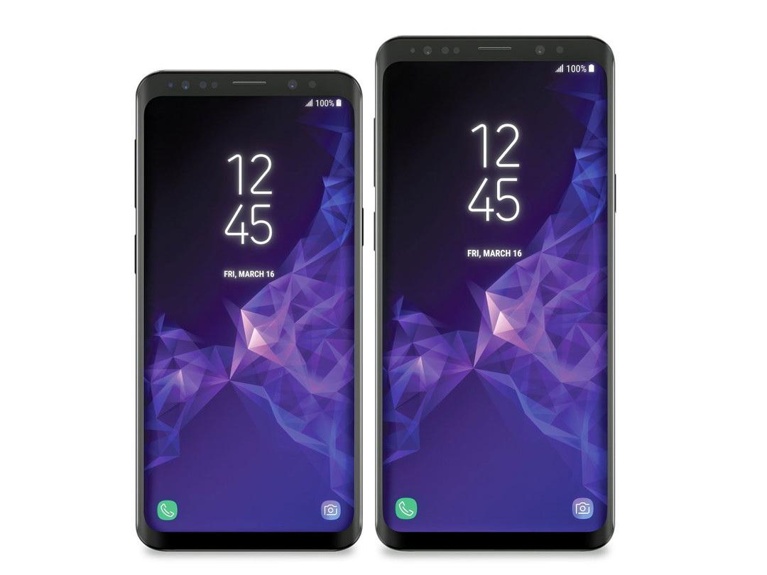 Стало известно, как будут выглядеть Samsung Galaxy S9 и S9+