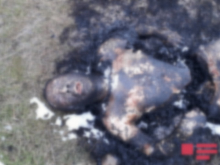 В Азербайджане найдено обгоревшее тело мужчины – ФОТО