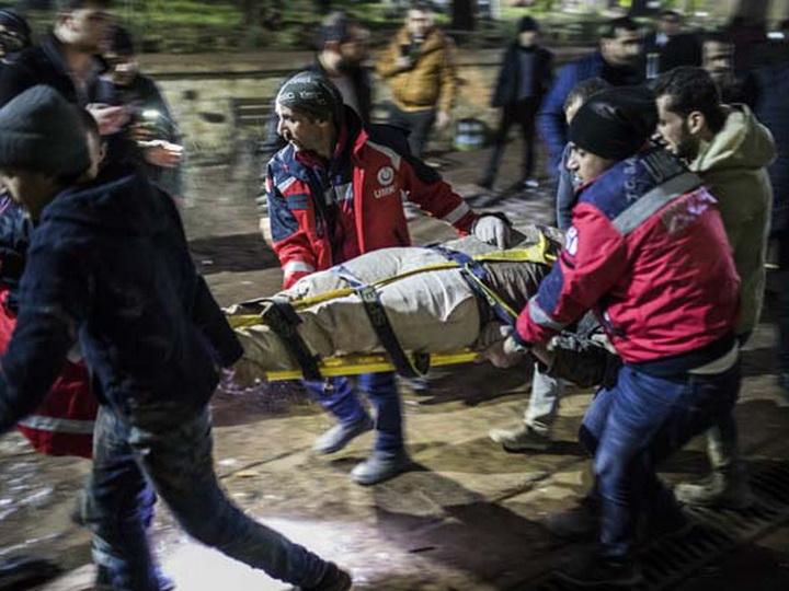 Возросло число погибших в результате попадания ракеты в мечеть в Турции – ФОТО – ОБНОВЛЕНО
