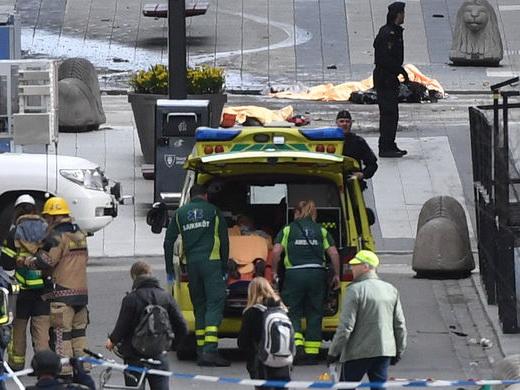 При взрыве у станции метро в Стокгольме есть погибший и раненый