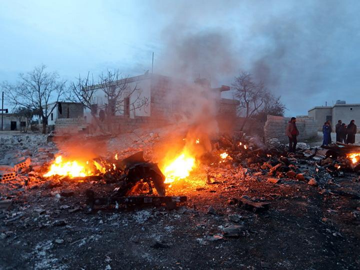 Российские ВС нанесли удар по боевикам, сбившим Су-25