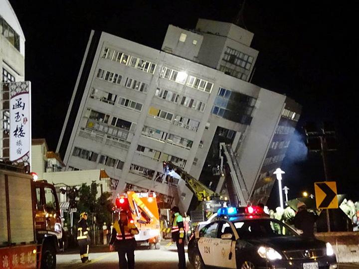 На Тайване произошло новое землетрясение магнитудой 6,1