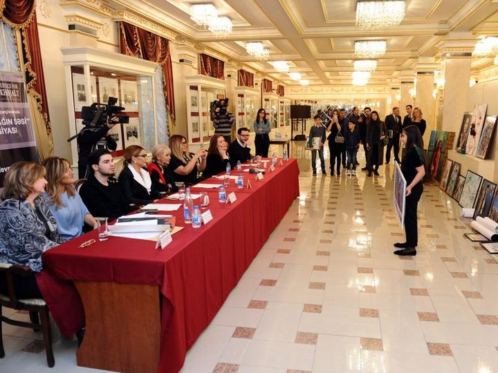 Состоялся отборочный этап выставки художественных произведений,представляемых на акцию «Голос Карабаха» - ФОТО