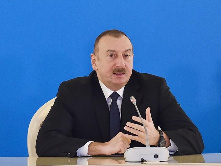 Президент Ильхам Алиев: «Азербайджан готов войти на европейский рынок со своими газовыми ресурсами» - ФОТО