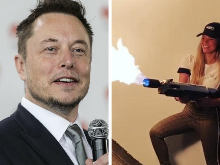 Илон Маск из-за проблем с таможней переименовал свои огнеметы в «не огнеметы»