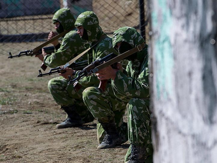 Российские разведчики в Армении провели «дуэль» с условным противником