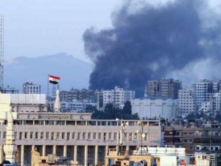 Российское торгпредство в Дамаске обстреляли из минометов