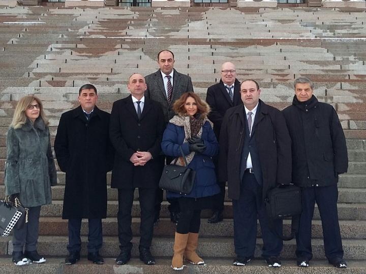 Азербайджанцы Европы представили в парламенте Финляндии обращение в связи с Ходжалы - ФОТО