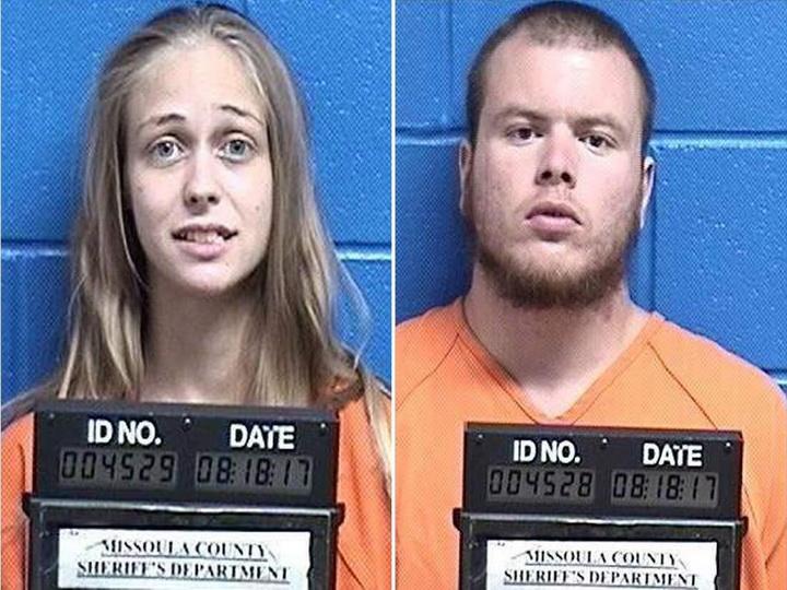 Парень и девушка убили двоих незнакомцев и пытались растворить тела в химикатах