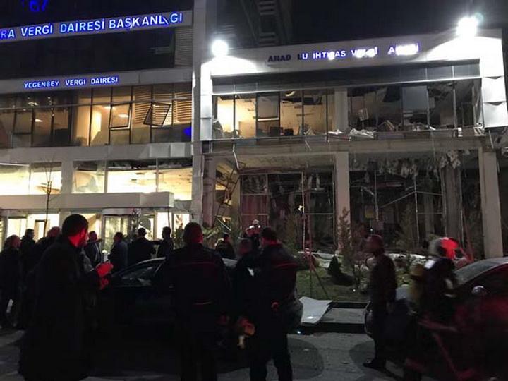 В столице Турции произошел взрыв - ФОТО