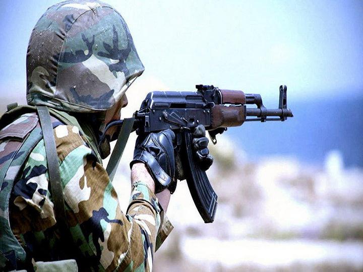 ВС Армении из крупнокалиберных пулеметов обстреляли азербайджанские позиции