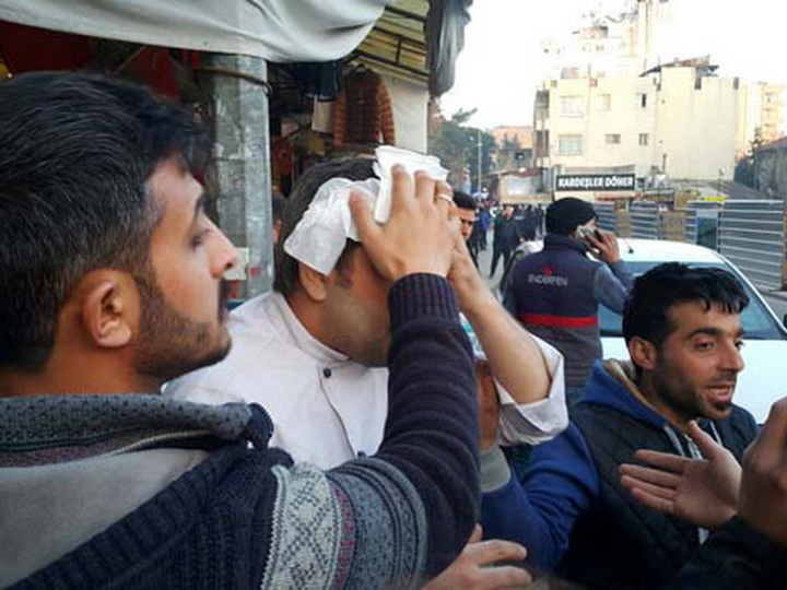 Ракета террористов попала в ресторан в Турции: есть раненые – ФОТО – ВИДЕО