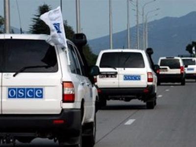 Мониторинг ОБСЕ на линии соприкосновения войск прошел без инцидентов