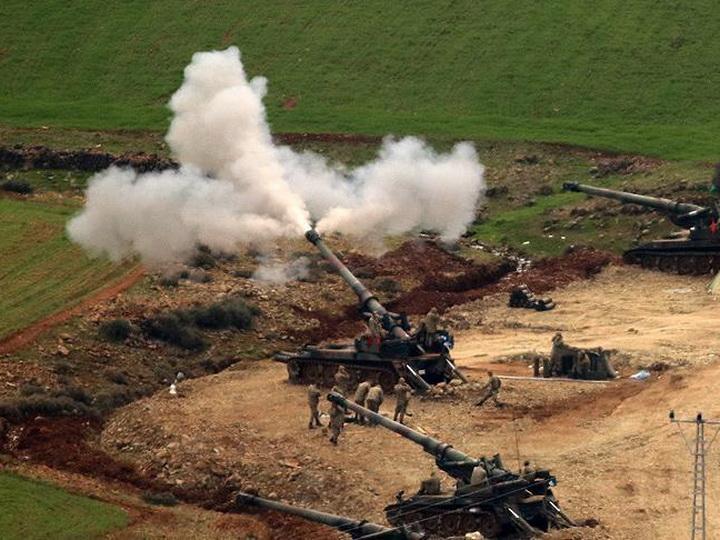 В Африне в ходе операции погибли двое турецких военных