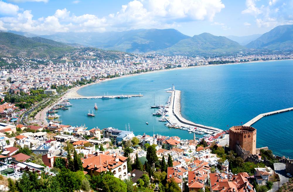 Какая погода на турецких курортах  в октябре?