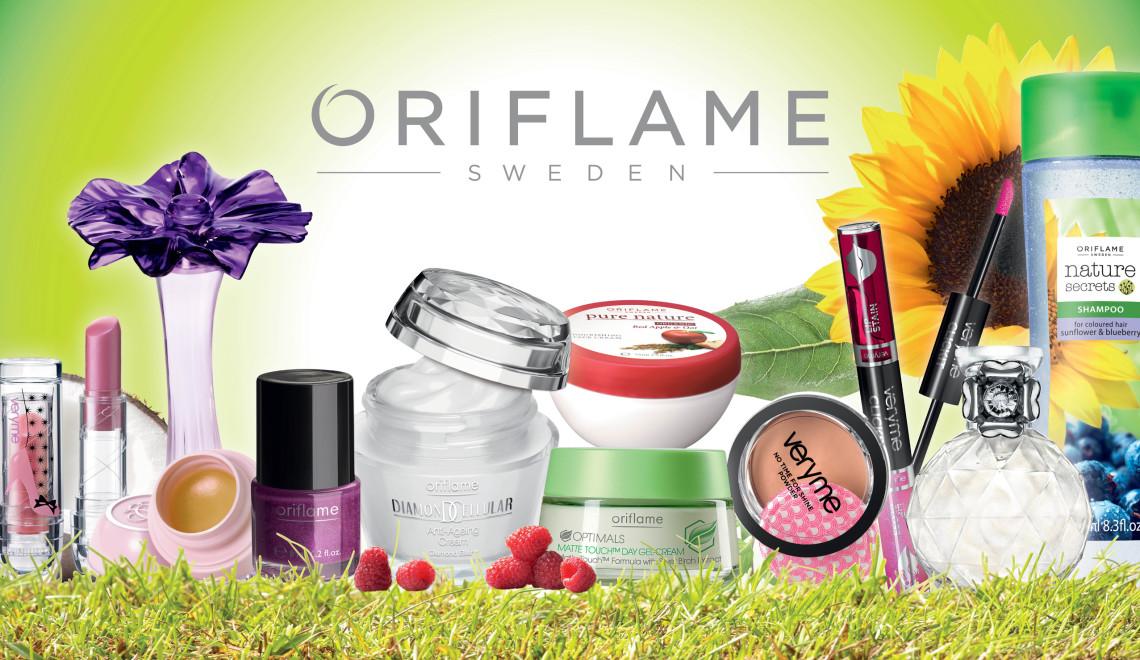 Отличная косметика Oriflame