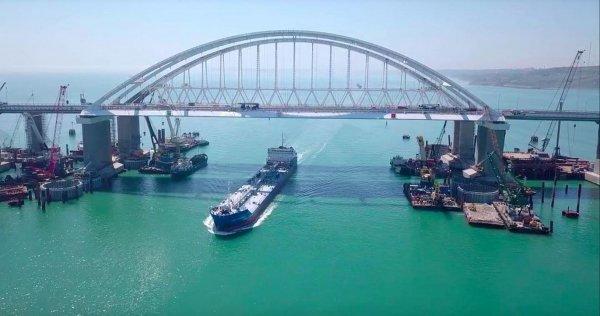 На ТВ рассказали о воплощении Путиным гитлеровского проекта Крымского моста