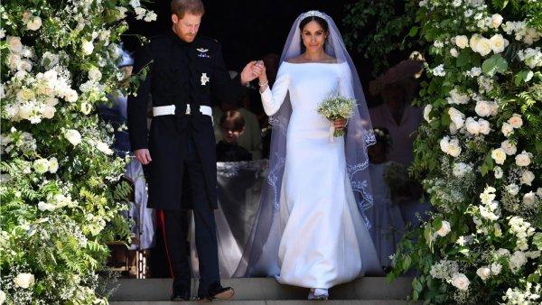 Дизайнер прокомментировала свадебное платье Меган Маркл
