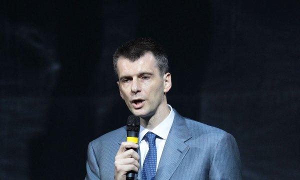 Прохоров подал иск о защите чести против Навального на 1 рубль
