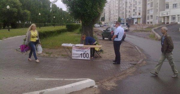 «Борьба с преступностью»: В Воронеже высмеяли полицейские действия