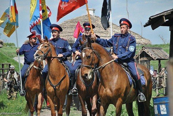 Донские казаки восхитили хорватов и исландцев