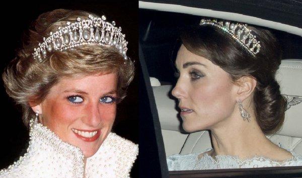 Кейт Миддлтон может получить титул принцессы, второй после леди Дианы