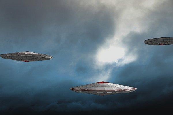 НЛО над Челябинском напугал местных жителей