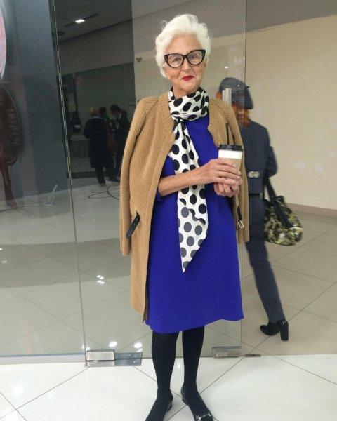 Челябинка стала моделью в 77 лет