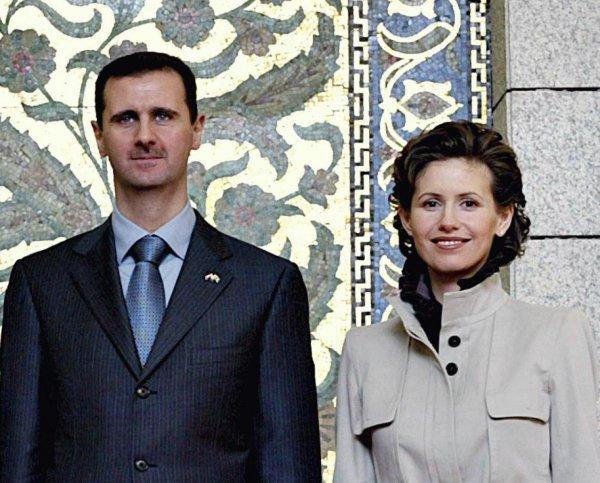 Россияне пожелали первой леди Сирии скорейшего выздоровления