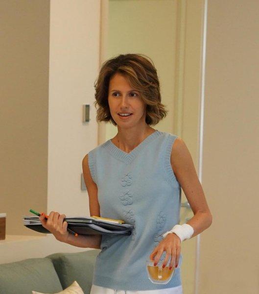 Онкобольная жена Асада прокомментировала свою болезнь