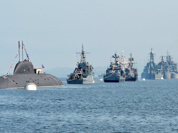 Во Владивостоке прошел парад в честь Дня ВМФ