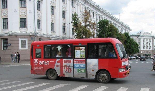 В Ростове водитель маршрутки запустил бутылкой в пассажира