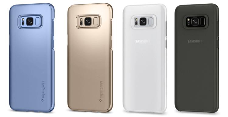 Большой выбор чехлов на Samsung Galaxy S8+