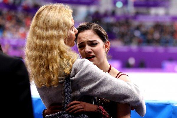 Медведева скорбит по умершей матери Этери Тутберидзе