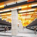 Пламенным потолком украсит архитектор современное метро «Улицы Новаторов»