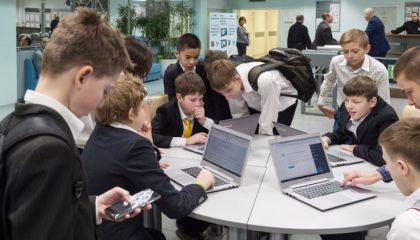 Профильные информационные ресурсы сделали московскую школу более открытой