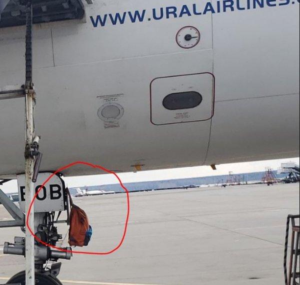 «Так можно вообще?»: Неосторожное обслуживание шасси самолёта «Уральских авиалиний» вызвало страх пользователей Сети