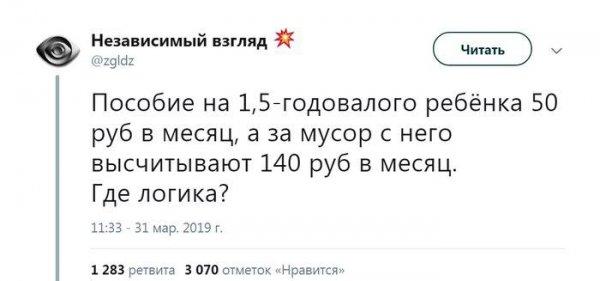 Мусор дороже детей?: Социальные выплаты россиянок в декрете остался на уровне 90-х