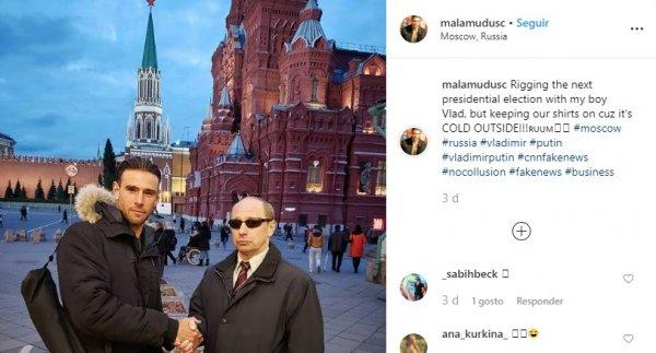 «Размножается как в Матрице»: Подозрительного двойника Путина американцы поймали на Красной площади