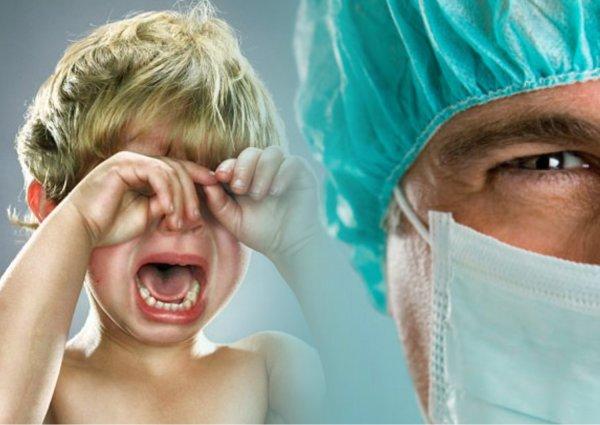 Шрамы оставить?: Белгородский врач пообещал изуродовать ребенка из-за отсутствия взятки