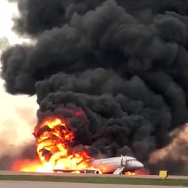 Сотрудники «Аэрофлота» и «Шереметьево» не смеялись над пожаром SSJ-100 на видео