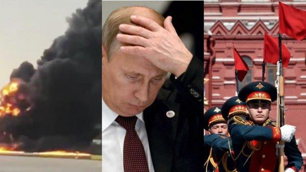 «Рана» еще кровоточит? Путин из страха повторения «Шереметьево» мог запретить авиапарад