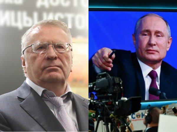 Жириновский предложил депутатам «чувствительный» просмотр «Прямой линии» Путина
