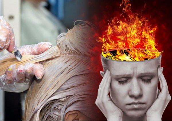 Парикмахер из Барнаула едва не сожгла голову клиентки