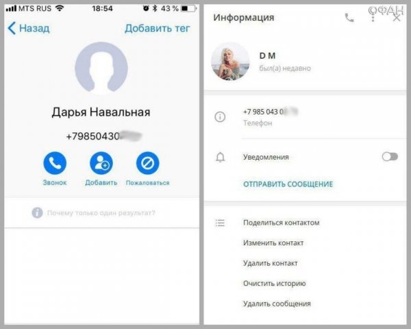 Слита переписка дочери Навального о ее интимных отношениях с девушкой